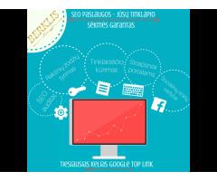 SEO paslaugos – Jūsų tinklapio sėkmės garantas