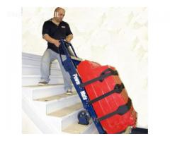 Sunkių krovinių kėlimas/transportavimas laiptais