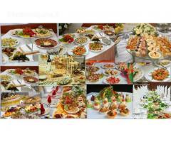 Maisto ruošimas Jūsų šventei! Vieno kąsnio užkandėlės, karšti patiekalai
