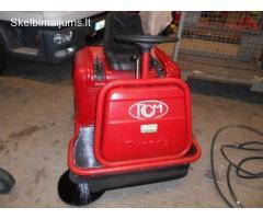 Naudota benzininė grindų šlavimo mašina