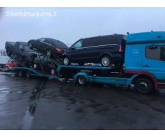 Automobilių tralavimas iš Olandijos, Vokietijos į Lietuvą