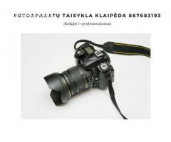 fotoaparatu taisykla Klaipeda 867683193