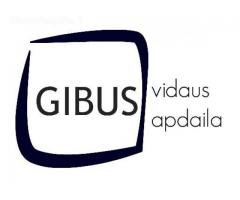 GIBUS vidaus apdaila Klaipedoje