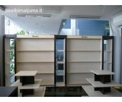 Išskirtiniai komerciniai baldai pagal užsakymą