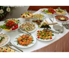 Maistas vestuvėms, gimtadieniui, krikštynom. Šventinis stalas