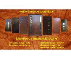 Šarvuotos durys Vilniuje