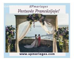 Upmariages: vestuvės Prancūzijoje, vestuvių planavimas, renginių organizavimas