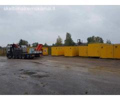 Buitinių, sanitarinių konteinerių pardavimas