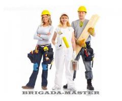 Naujų butų ir namų vidaus ir išorės apdaila, įrengimas iki rakto (po statybų iki raktų)