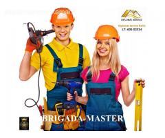Statybų ir remonto, apdailos, irengimo VIP projektai – tik Brigada-Master®