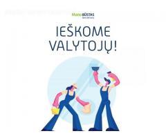 Kviečiame prisijungti prie mūsų komandos VALYTOJAS (-us)