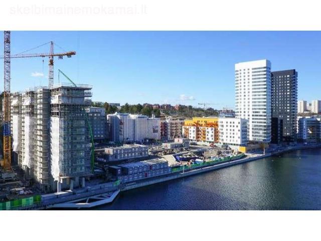 Darbas statybininkui Švedijoje