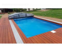 Aqua spektras - vidaus baseinai, lauko baseinų paruošimas žiemai