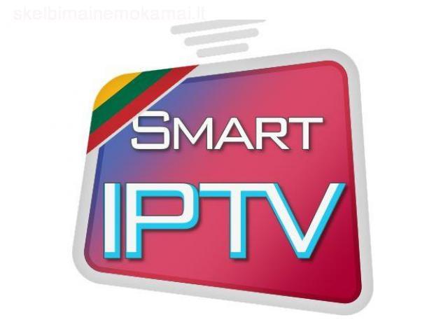 SMART IPTV Kalėdoms - Išbandyk mėnesį nemokamai! UK LT DE IRE NOR SWE