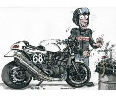 Motoroleriu motociklu remontas