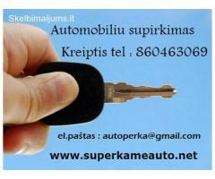 Automobiliu supirkimas 860463069