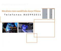 Metalinės rūsio sandėliuko durys Vilnius