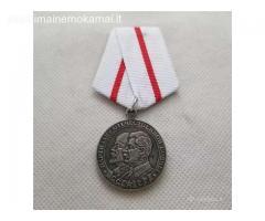 Dvigalvis medaliukas