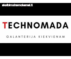 """""""Technomada"""" - mažmeninė prekyba galanterijos gaminiais"""