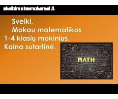 Mokau matematikos online.