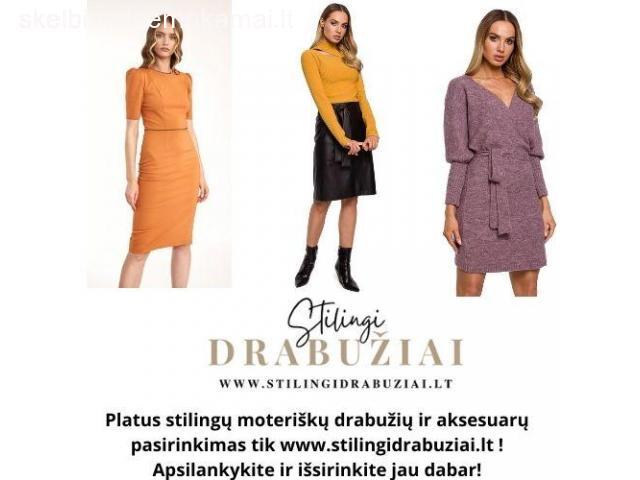 Stilingų drabužių elektroninė parduotuvė
